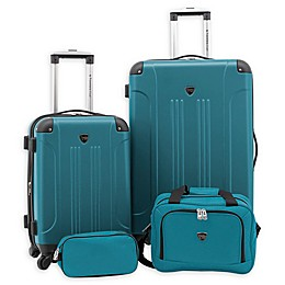 Traveler's Club® Chicago Plus 4-Piece Hardside Spinner Luggage Set