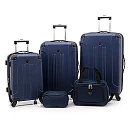 Traveler's Club® Chicago Plus 5-Piece Hardside Spinner Luggage Set