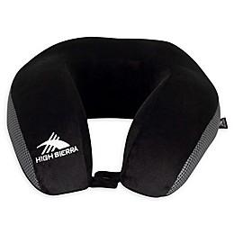 High Sierra® Memory Foam 4-Inch Travel Pillow in Grey