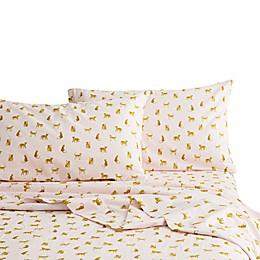 Marmalade™ Leopard Flannel Standard/Queen Pillowcase in Pink