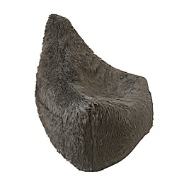 Iron Cloud™ Faux Fur Upholstered Big Mouth Chair