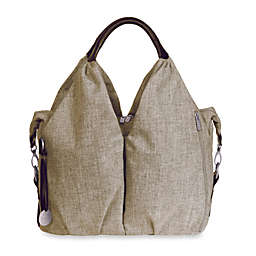 Lassig Green Label Neckline Diaper Bag in Chocolate Melange