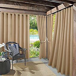 Sun Zero® Marlee 108-Inch Indoor/Outdoor Window Curtain Panel in Linen