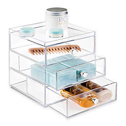 iDesign® Luci 3-Drawer Vanity Organizer