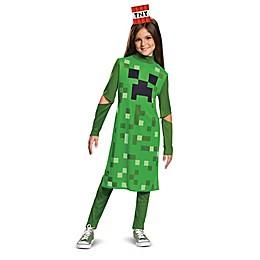 Minecraft Creeper Girl Classic Child's Halloween Costume
