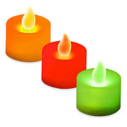 LED Battery Operated Tealight Candles (Set of 12)
