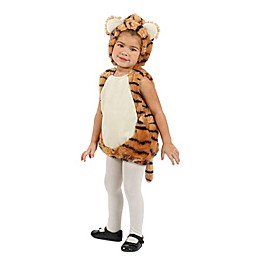 Size 12-18M Tiger Bubble Child's Halloween Costume in Orange