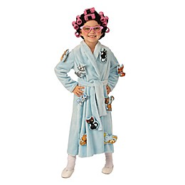 Crazy Cat Lady Child's Halloween Costume in Blue
