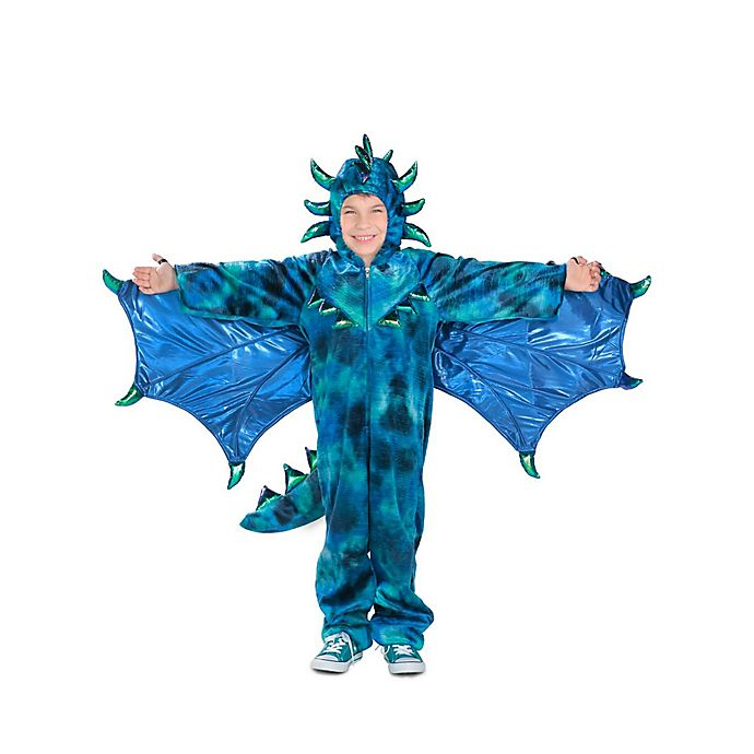 Alternate image 1 for Sully the Dragon Child's Halloween Costume