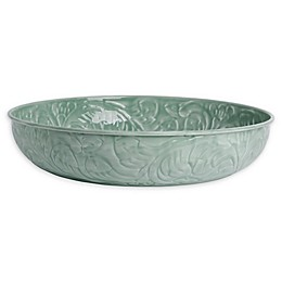Bee & Willow™ Decorative 16-Inch Metal Bowl in Dark Green