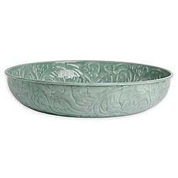 Bee & Willow™ Decorative 16-Inch Metal Bowl in Dark Green