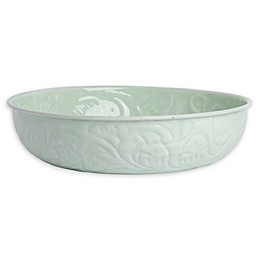 Bee & Willow™ Decorative 12-Inch Metal Bowl in Light Green