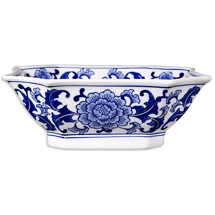 Alternate image 1 for One Kings Lane Open House™ Decorative Bowl in Blue/White