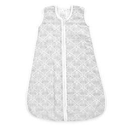 aden + anais® Decorative Fans Cotton Wearable Blanket in Grey