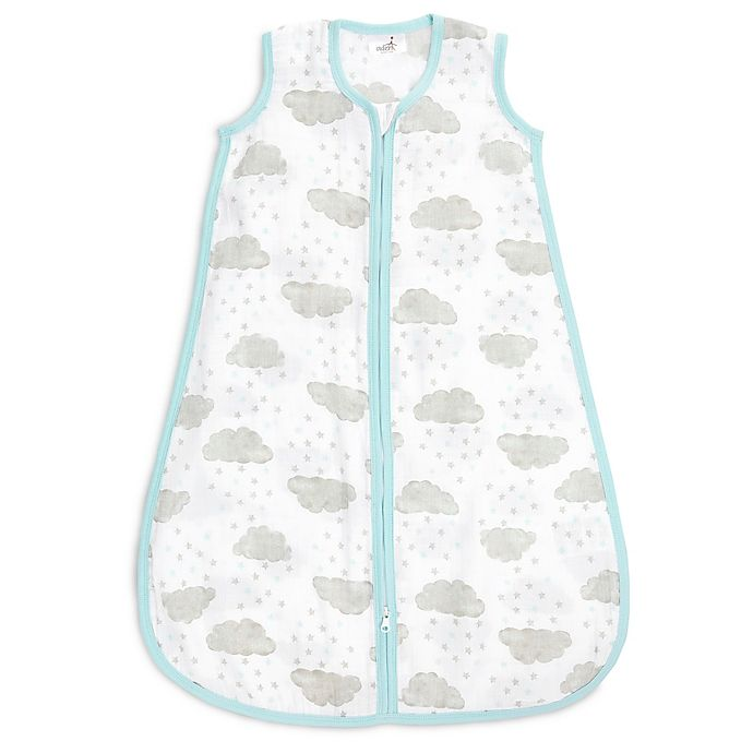 Alternate image 1 for aden + anais® Starry Wearable Blanket in Grey