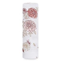 aden + anais® Dahlia Cotton Swaddle Blanket in Pink