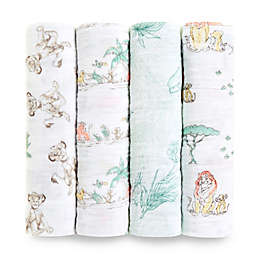 aden + anais® 4-Pack Disney® The Lion King Cotton Swaddle Blankets