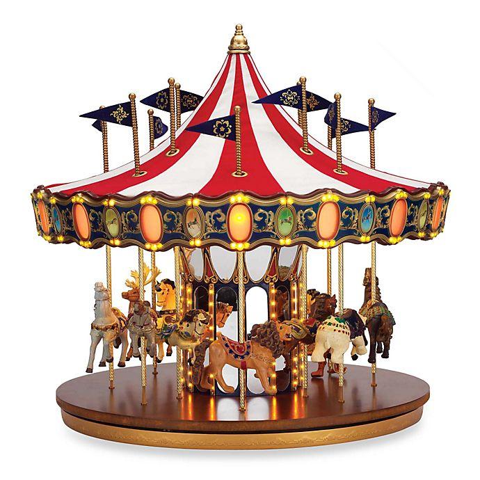 Mr Christmas Carousel.Mr Christmas 75th Anniversary Carousel Buybuy Baby