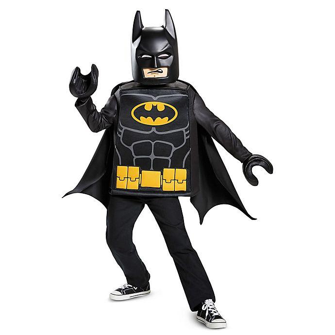 Alternate image 1 for Batman Lego Movie Classic Small Child's Halloween Costume