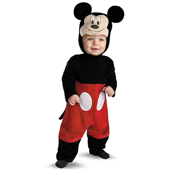 Alternate image 1 for Disney® Mickey Mouse 12-18M Infant Halloween Costume