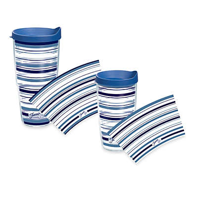 Tervis® Stripe Lapis Fiesta® Wrap Tumblers with Lid