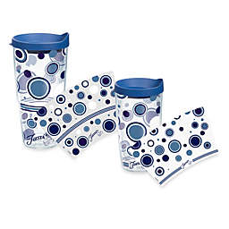 Tervis® Polka Dot Lapis Fiesta® Wrap Tumblers with Lid