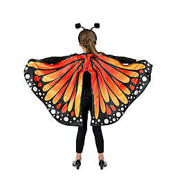 Monarch Butterfly Cape One-Size Child's Halloween Costume