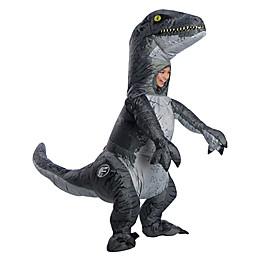 Jurassic World: Fallen Kingdom Velociraptor Inflatable Child Halloween Costume with Sound