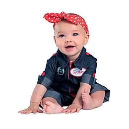 Rosie the Riveter Child's Halloween Costume