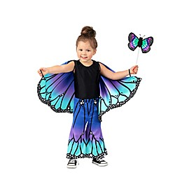 Butterfly Child's Halloween Costume in Blue
