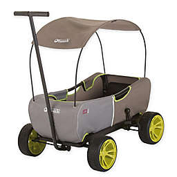 Hauck ECOmobil Foldable Hand-Pull Wagon in Forest