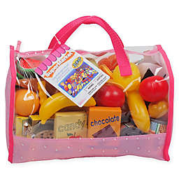 Gi-Go Toy 120-Piece Play Food Carry Bag Set