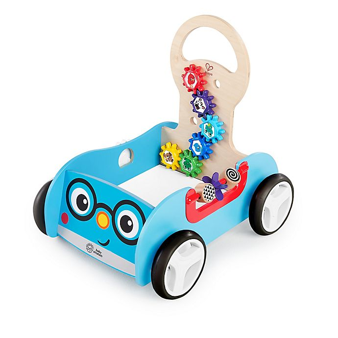 Alternate image 1 for Baby Einstein™ Discovery Buggy™ Wooden Activity Walker & Wagon