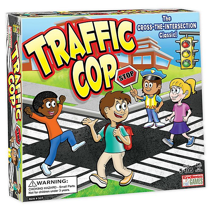 Alternate image 1 for Endless Games Traffic Cop™ Board Game