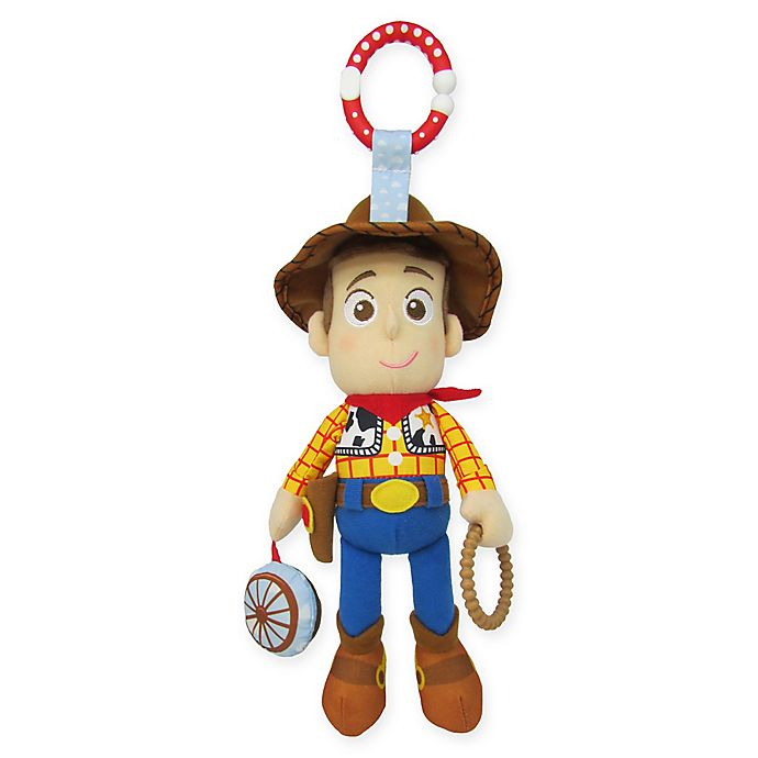 Alternate image 1 for Disney® Toy Story Woody On-the-Go Stroller Activity Toy