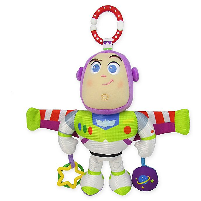 Alternate image 1 for Disney® Toy Story Buzz Lightyear On-the-Go Stroller Activity Toy