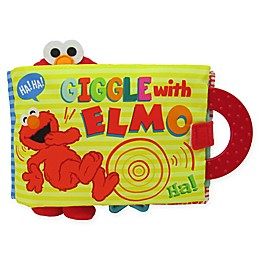"Sesame Street® ""Giggle With Elmo"" Soft Interactive Book"