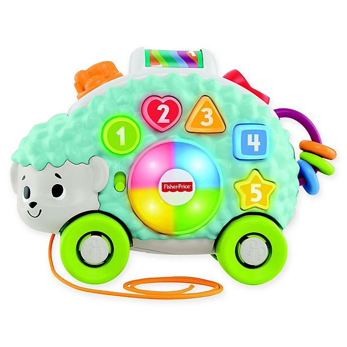 Alternate image 1 for Fisher-Price® Linkimals™ Happy Shapes Hedgehog Interactive Toy