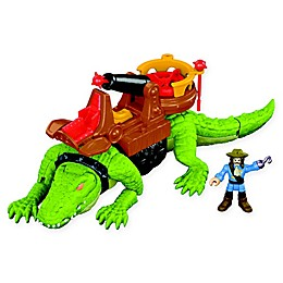 Fisher-Price® Imaginext® 4-Piece Croc & Pirate Hook Playset