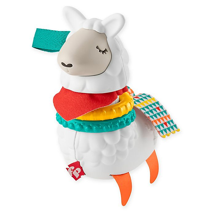 Alternate image 1 for Fisher-Price® Click Clack Llama Rattle