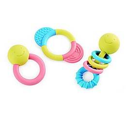 Hape 3-Piece Teether Rattle Toy