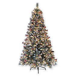 Puleo International® Sterling Pine Artificial Christmas Tree with Clear Lights