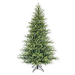 Puleo International® 7.5' Alberta Spruce Christmas Tree w/ Warm White Lights