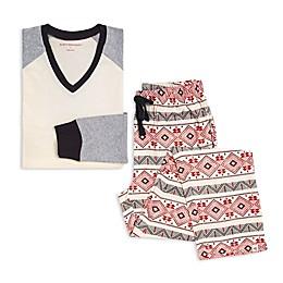 Burt's Bees Baby® 2-Piece Aspen Cabin Men's Organic Cotton Pajama Set