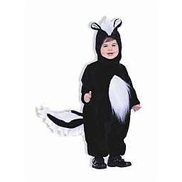 Plush Skunk Toddler's Halloween Costume