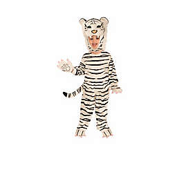 Plush White Tiger Toddler's Halloween Costume