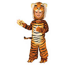 Plush Orange Tiger Toddler's Halloween Costume