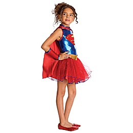 DC Comics Large Supergirl Tutu Child's Halloween Costume
