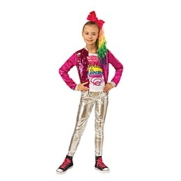 "JoJo Siwa ""Hold The Drama"" Child's Halloween Costume in Pink"