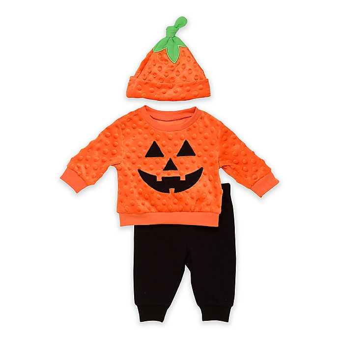 Alternate image 1 for Baby Starters® Halloween 3-Piece Jog Set